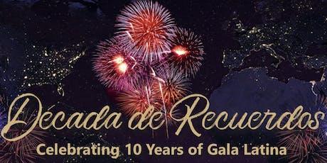 Caprock Foundations Gala Latina 2019- Celebrating 10 years  tickets