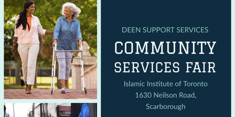 DEEN Support Services Community Fair tickets