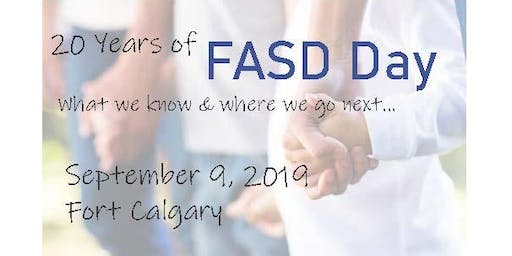 20 yrs of FASD Day: What we know & where we go next...