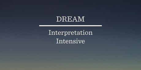 Dream Interpretation Intensive tickets