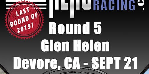 Round 5 - Sprint Hero Racing Series – Glen Helen Raceway – Devore, CA