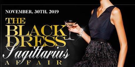 LITTLE BLACK DRESS SAGITTARIUS AFFAIR NYC 2019 THANKSGIVING WEEKEND tickets