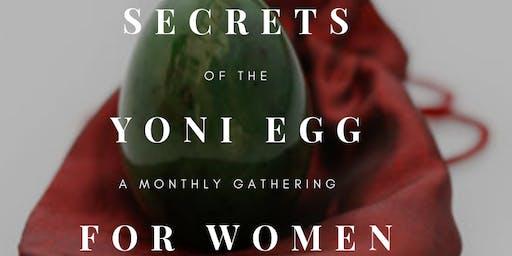 Yoni Egg: Gathering for Women:  Sunday, September 8