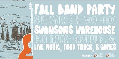 Clemson Young Alumni Fall Band Party tickets