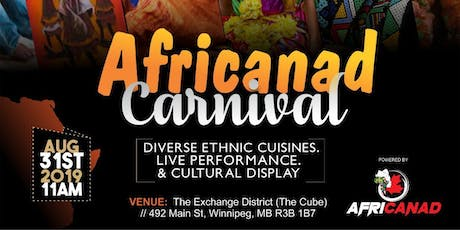 Africanad Carnival tickets
