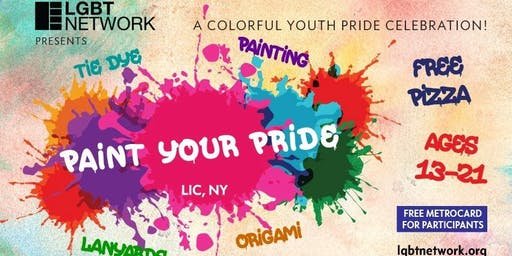Paint Your Pride - For Youth