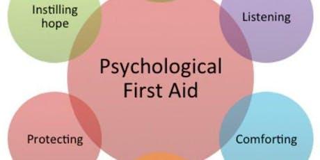 MRC Training: Psychological 1st Aid - Nov 7, 2019 tickets