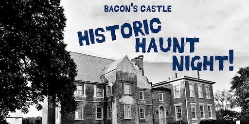Behind-the-Scenes Historic Haunt Night Experience