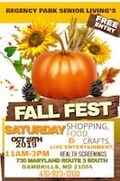 Regency Park Senior Living Fall Festival
