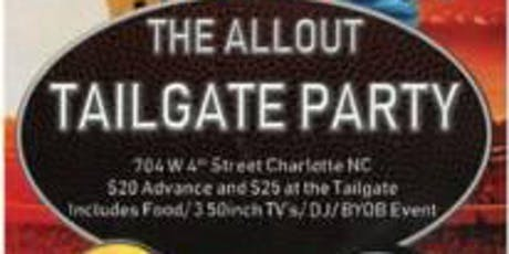 The AllOut Tailgate Party Rams vs Panthers tickets