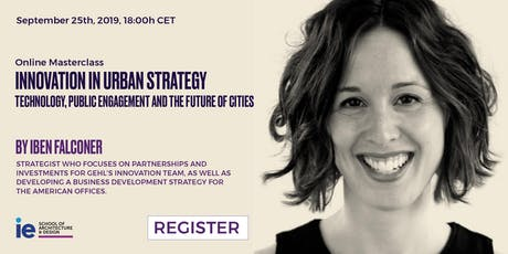 Innovation in Urban Strategy: Technology, Public Engagement and the future tickets