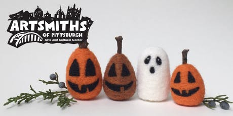 Needle Felting Ghosts and Pumpkins with Erin Carlson tickets
