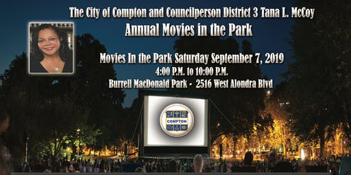 City Of Compton Movies In The Park