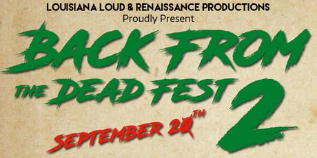Back from the Dead Fest 2 tickets
