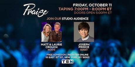 NY - Joseph Prince with Matt & Laurie Crouch  tickets