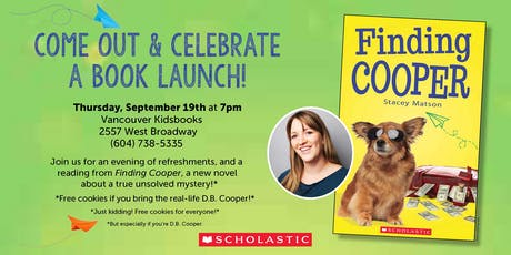 Finding Cooper Book Launch! tickets