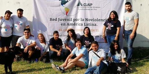 II Encontro da Rede de Jovens Construtores da Paz da América Latina (II Encuentro de la Red de Jóvenes Contstructores de Paz de América Latina).