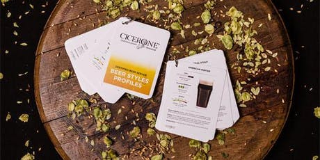 Become a Cicerone: Learn Styles, Flavors, and Pouring tickets