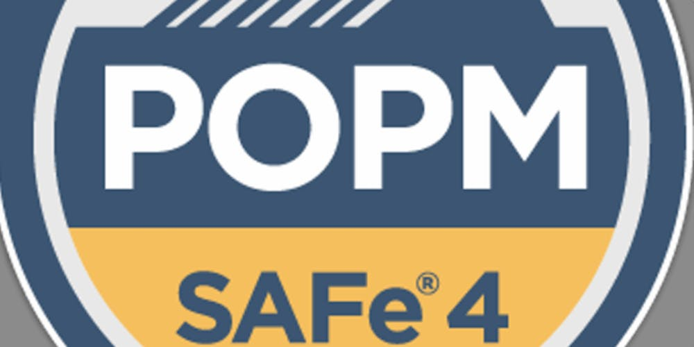 SAFe Product Manager/Product Owner with POPM Certification