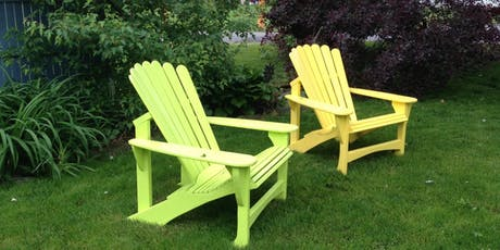 Have a Seat! Building a Great Garden Chair tickets