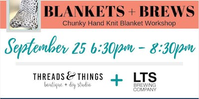 Blankets + Brews at LTS Brewing Company