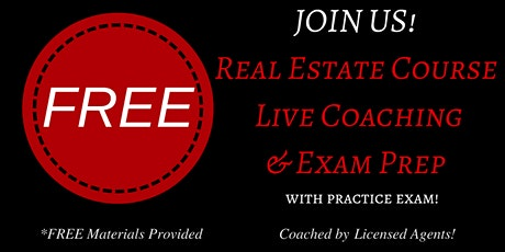 Keller Williams Realty's: FREE Live Real Estate Coaching & Exam Prep tickets