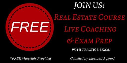 Keller Williams Realty's: FREE Live Real Estate Coaching & Exam Prep