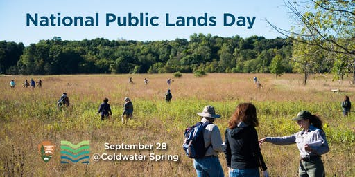 National Public Lands Day at Coldwater Spring