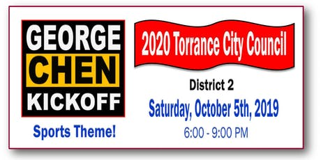 George Chen 4 Torrance City Council 2020 - District 2  tickets