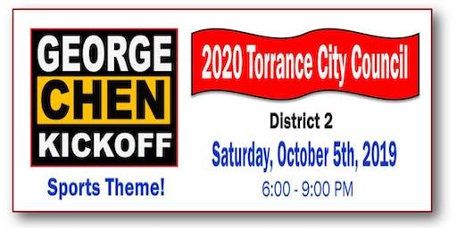 George Chen 4 Torrance City Council 2020 - District 2
