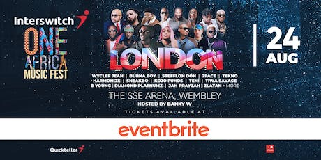 Interswitch One Africa Music Fest -  London tickets