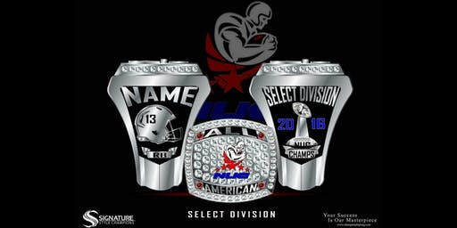 NUC All American Game Championship Ring 2019