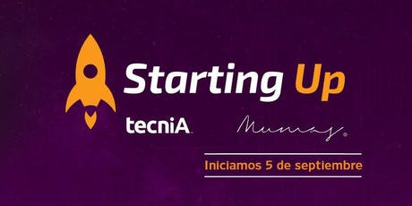 Starting Up para Mujeres Emprendedoras boletos