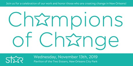 Champions of Change tickets