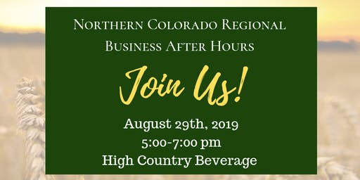 Northern Colorado Regional Business After Hours