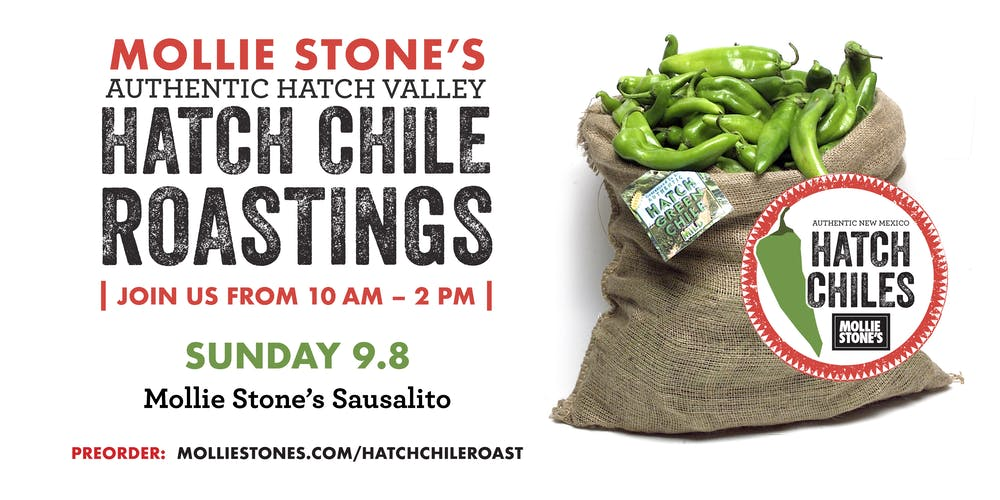 Annual Hatch Chile Roast at Mollie Stone's Markets Sausalito