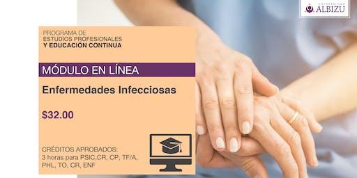 MÓDULO EN LÍNEA: Enfermedades Infecciosas