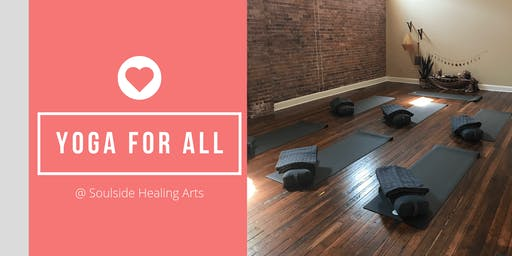 Soulside Healing Arts & Junior League of Peoria: Yoga for All