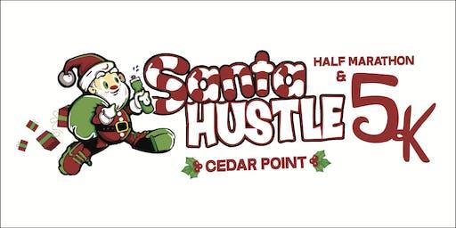 Santa Hustle Cedar Point Half Marathon & 5K Volunteer Sign-Up 2019
