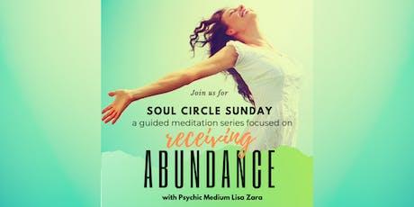 Soul Circle Sunday - Meditation Meet-up with Lisa Zara, Psychic Medium tickets