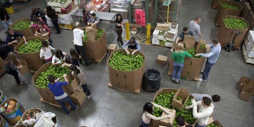 Second Harvest Food Bank - Work in the Warehouse