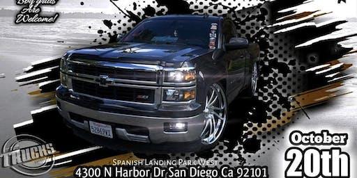 Shake Down San Diego beach Truck Show