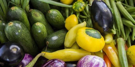 Growing & Selling Produce for Farmers Markets-Sat, Sept. 21, 2019 9:30am-noon