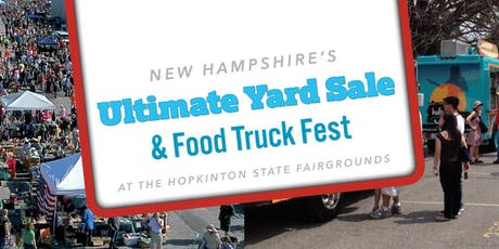 New Hampshire's Ultimate Yard Sale & Food Truck Fest Yard Seller Space tickets