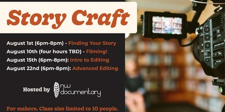 Story Craft - a film workshop with NW Documentary tickets