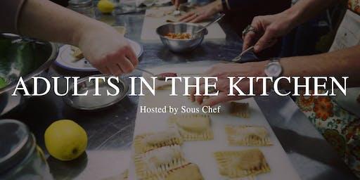 Adult Kids In The Kitchen: Little Black Dress Initiative