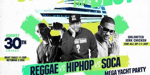 Strictly the Best Mega Yacht Party starring Majah Hype, DJ Self & DJ Norie