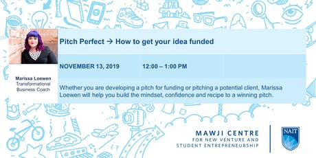 Crafting a Perfect Pitch with Marissa Loewen tickets