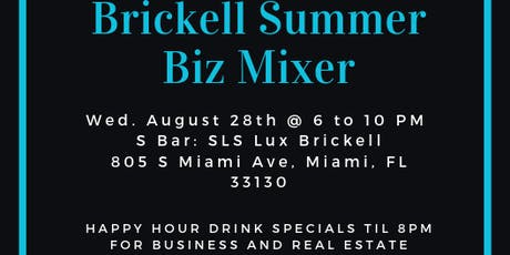 Brickell Summer Biz Mixer tickets