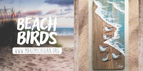Beach Birds Paint Party - Richland tickets